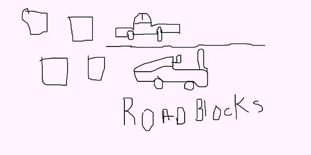 ROAD BLOCKS 14035771681504
