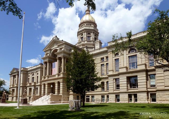 Wyoming State Capitol  - Cheyenne, Wyoming
