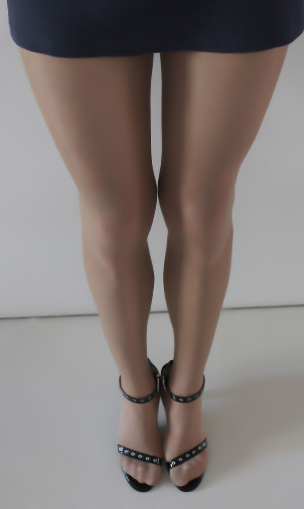 Casually pantyhose tan heels whom can
