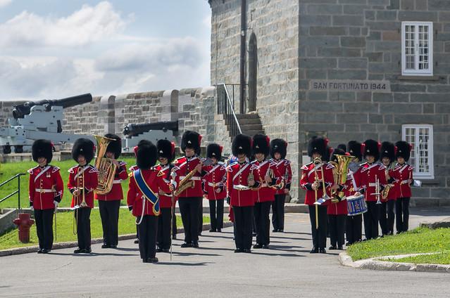 Relève de la Garde du Royal 22ème Régiment, Québec