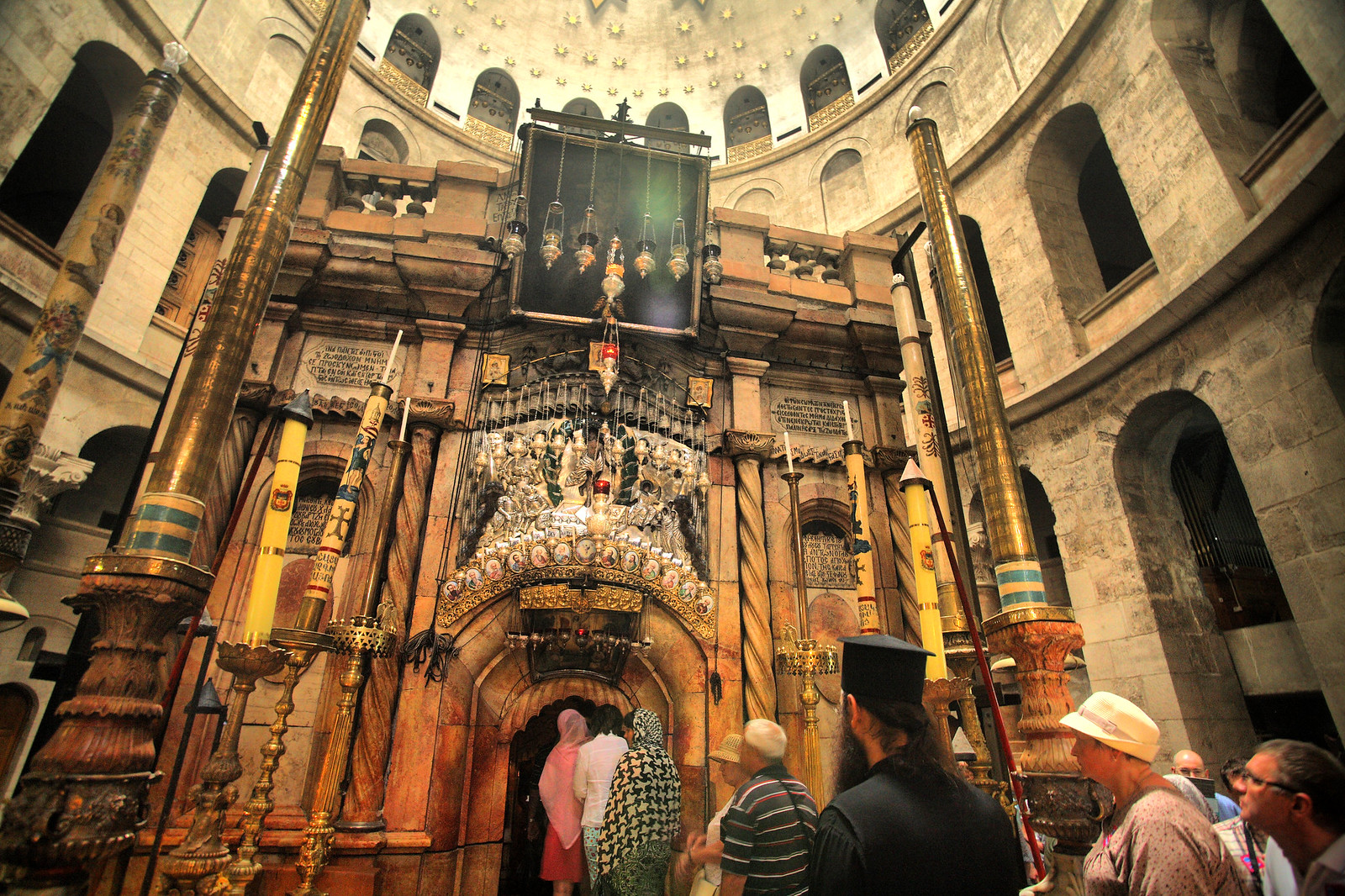 Jerusalem_Holy Sepulcher_The Edicule_1_Noam Chen_IMOT