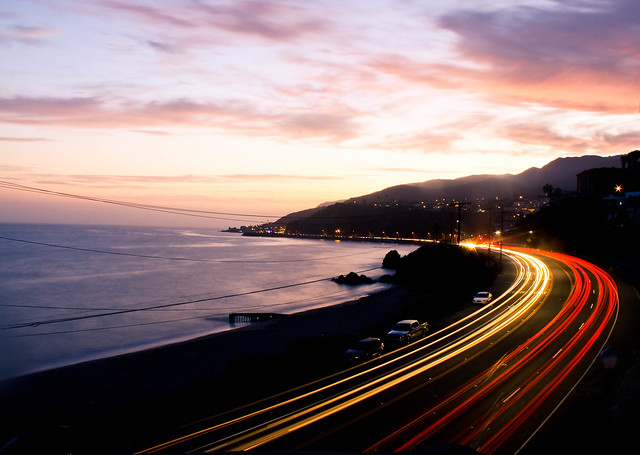 Pacific Coast Highway, Southern Cal.