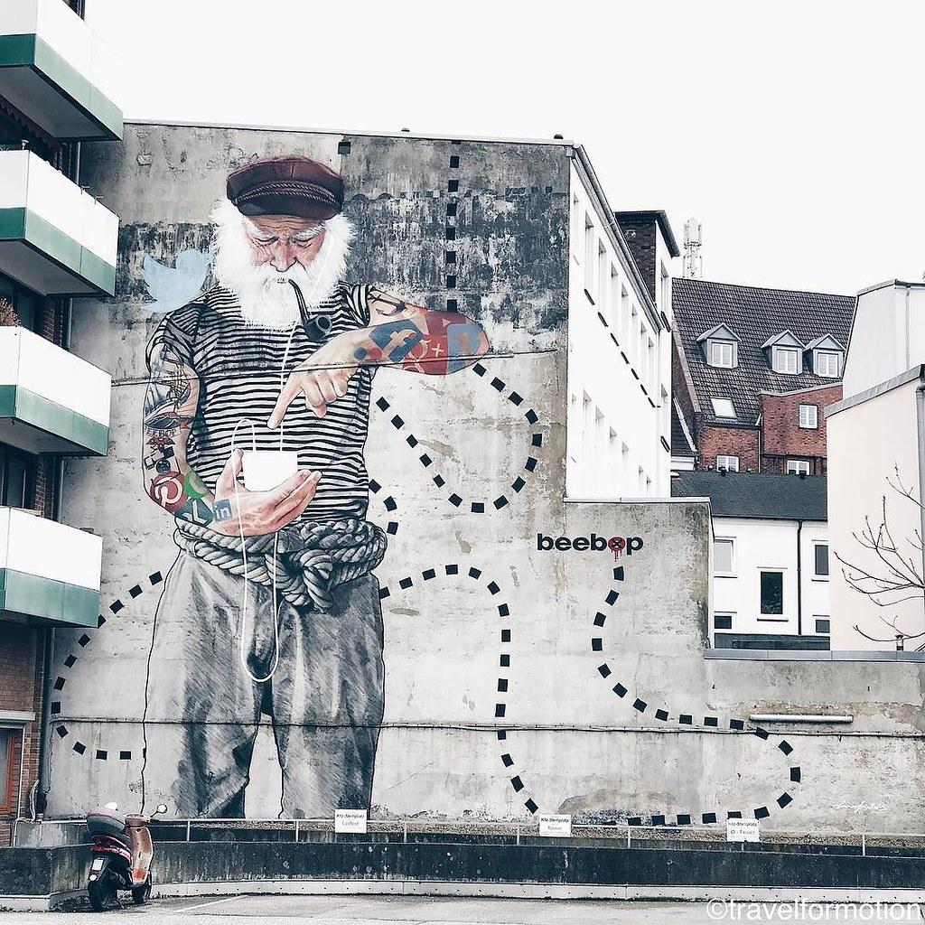 streetart #streetartistry #hamburg #wall #art #vsco #vsco… | Flickr