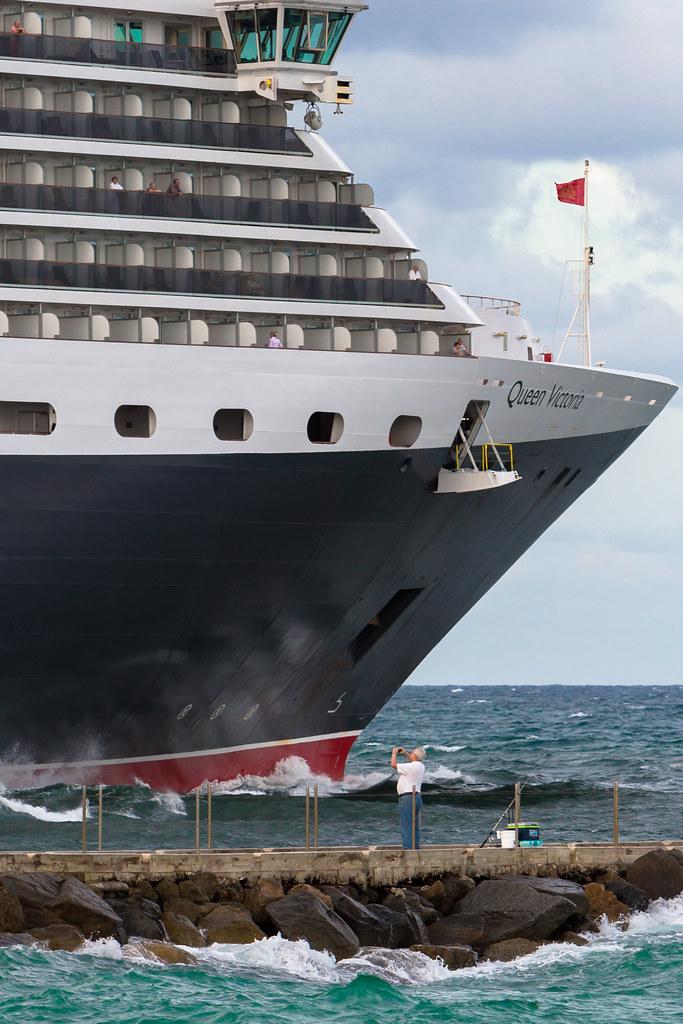 MS Queen Victoria sails from Port Everglades, Florida | Flickr