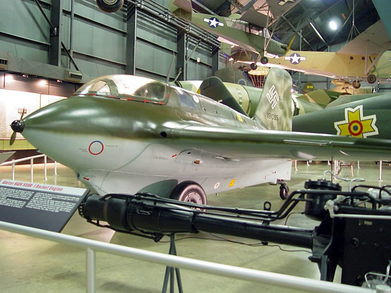 Messerschmitt Me 163B Cometa 1