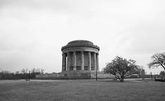 George Rogers Clark Memorial, Vincennes, Indiana B&W