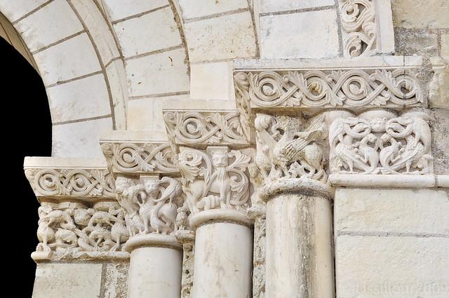 5/7 Abbaye Royale Fontevraud Abbey UNESCO site FRANCE 2009 Read info Français English info