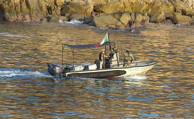 Small Navy Boat