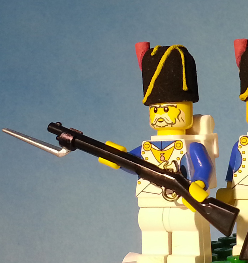 Lego Napoleon's Old Guard | Headgear designed by Woody64 on … | Flickr