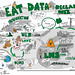 Eat the Data: Reclaim the web, #CNIE2014 keynote by @brlamb expertly DJd by @draggin by giulia.forsythe