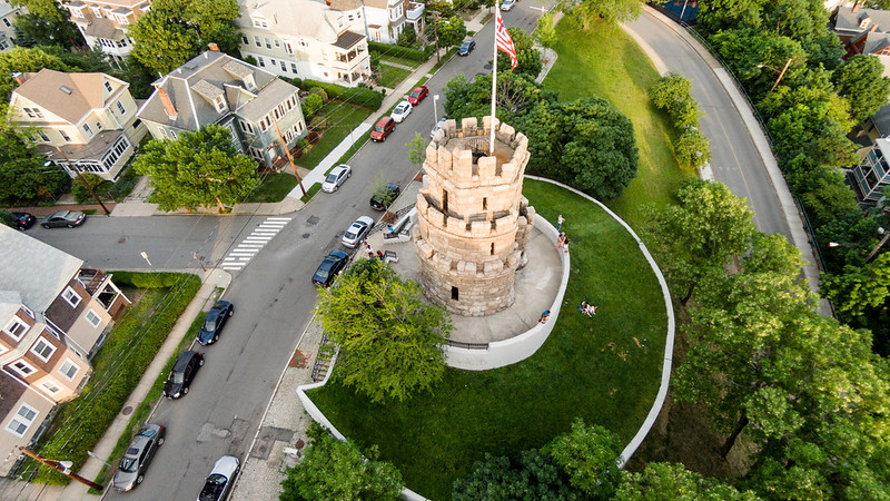 Prospect Hill Tower - 3/4 Angle