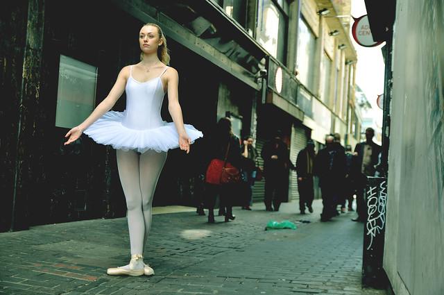 7. Street Ballerina - Soho, London