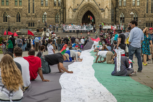 Free Palestine Protest at Parliament Hill | by Tony Webster