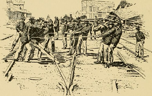 """Image from page 177 of """"An illustrated history of the Missouri Engineer and the 25th Infantry Regiments; together with a roster of both regiments and the last known address of all that could be obtained .."""" (1889) 