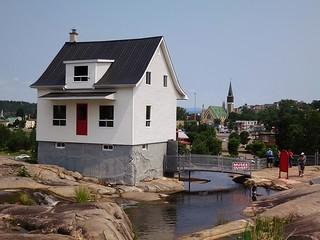 Le Musee de la Petite Maison Blanche e du Deluge du Saguenay, Chicoutimi, Quebec, Canada