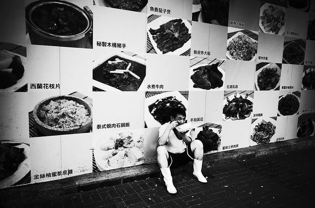 A chef in Hong Kong
