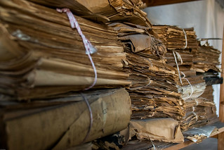 Piles of abandoned historical papers | by Phototravelography