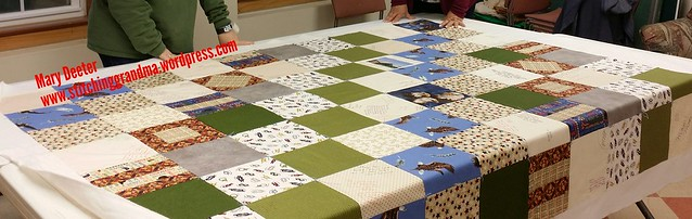 Senior quilt for Eagle Scout
