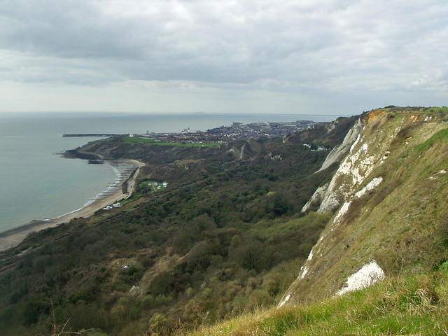 Folkestone from Capel-le-Ferne