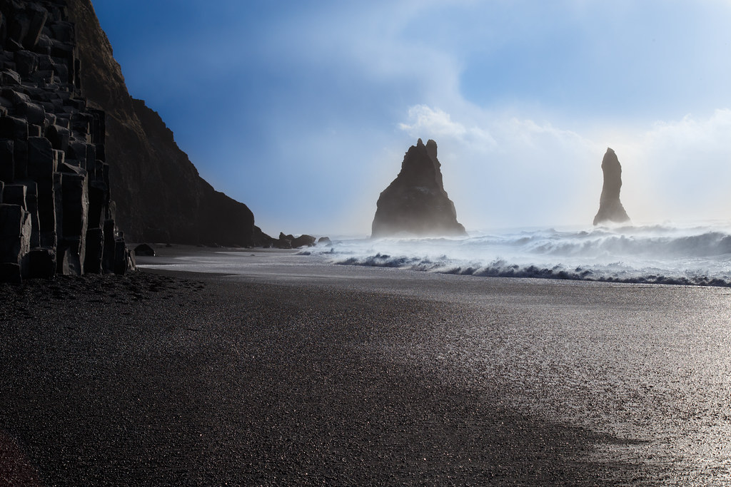 Reynisfjara Black Sand Beach (Vík, Iceland)