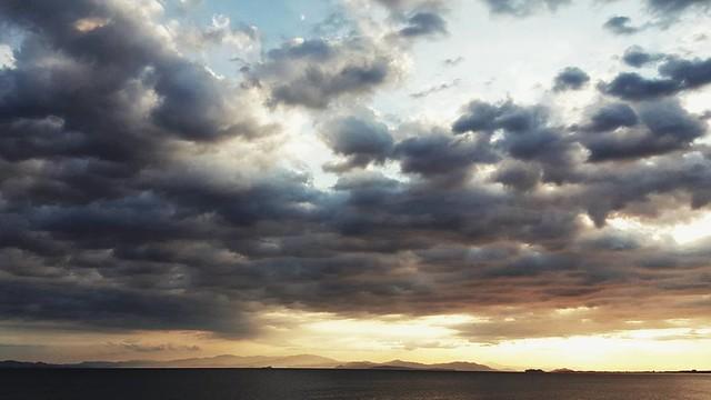 #cloudy☁️ #sunrise 😊 #picoftheday