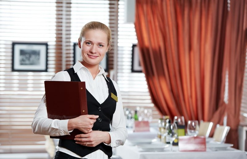 Catering Maneger Restaurant Manager Woman At Work Place