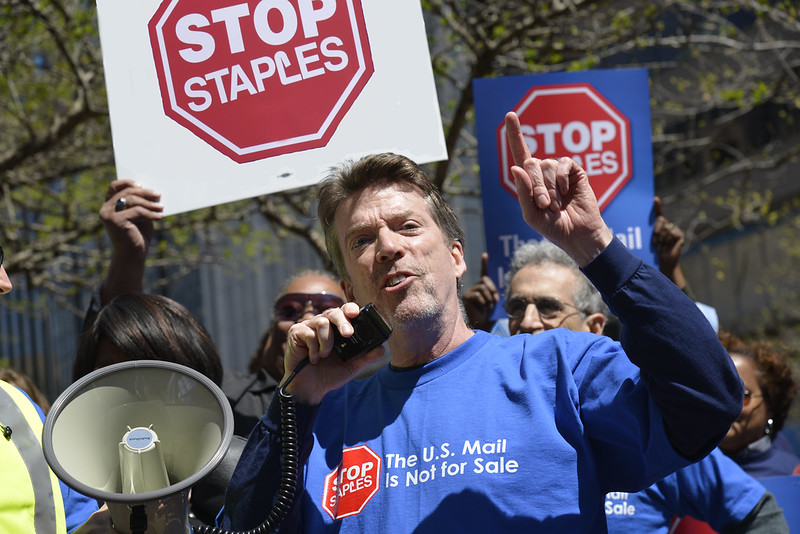 NPMHU Supports Stop Staples Campaign