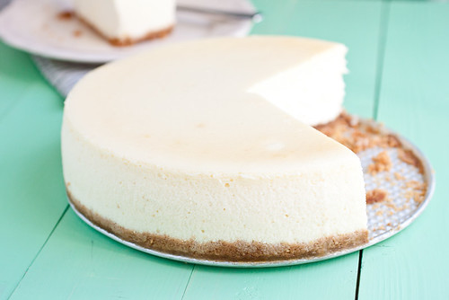 Tall and Creamy Classic New York Cheesecake | by Smells Like Home