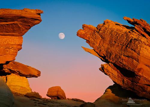 peterboehringerphotography lakepowell page studhorsepoint moon moonrise arizona ngc fourcornersphotography