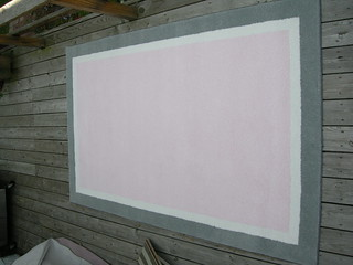 Pink and White and Gray A.V