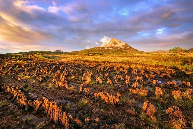 Drying The Turf - Mt Errigal