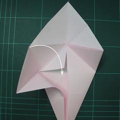 การพับกระดาษเป็นไดโนเสาร์ทีเร็กซ์ (Origami Tyrannosaurus Rex) 006