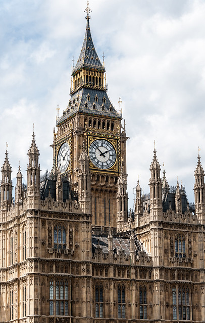 Elizabeth Tower, Palace of Westminster