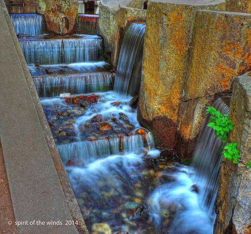 waterfalls riverfrontpark nikonflickraward spokanewashingtonstate