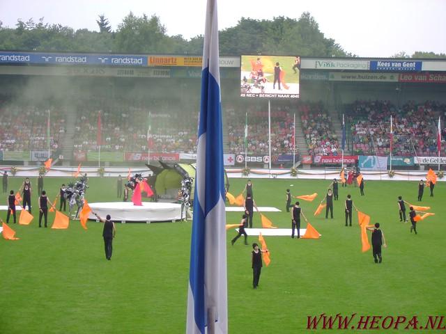 2007-07-16 Startbewijs op halen en vlaggen parade. (63)