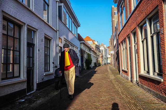 Yellow scarf @ Haarlem