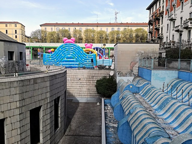 Onde blu in Milano
