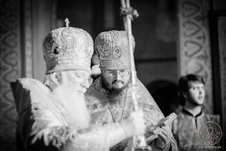 Литургия в Софийском соборе 230