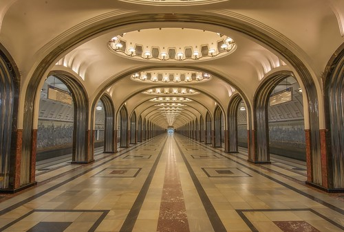 Mayakovskaya Metro Station (Luminosity Masks) | by JRE313