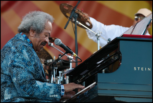 Allen Toussaint at Jazz Fest 2014 day 6. Photo by Ryan Hodgson-Rigsbee www.rhrphoto.com