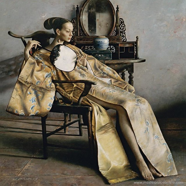 Lu Jianjun (1960- ) - Wan Rong (Private Collection)
