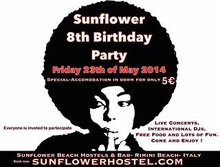 Sunflower Birthday 2014
