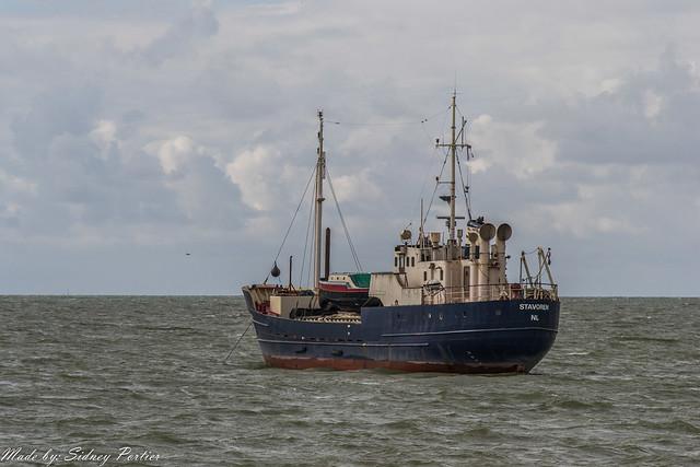 IJsselmeer bij Stavoren op maandag 12 mei 2014 (2)
