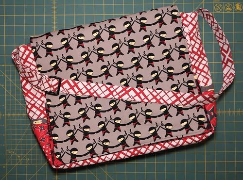 Ninja Messenger Bag