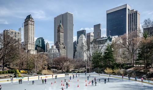 Central Park ice rink | by Maciek Lulko