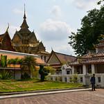 Bangkok, viajefilos en Ratanakosin 66