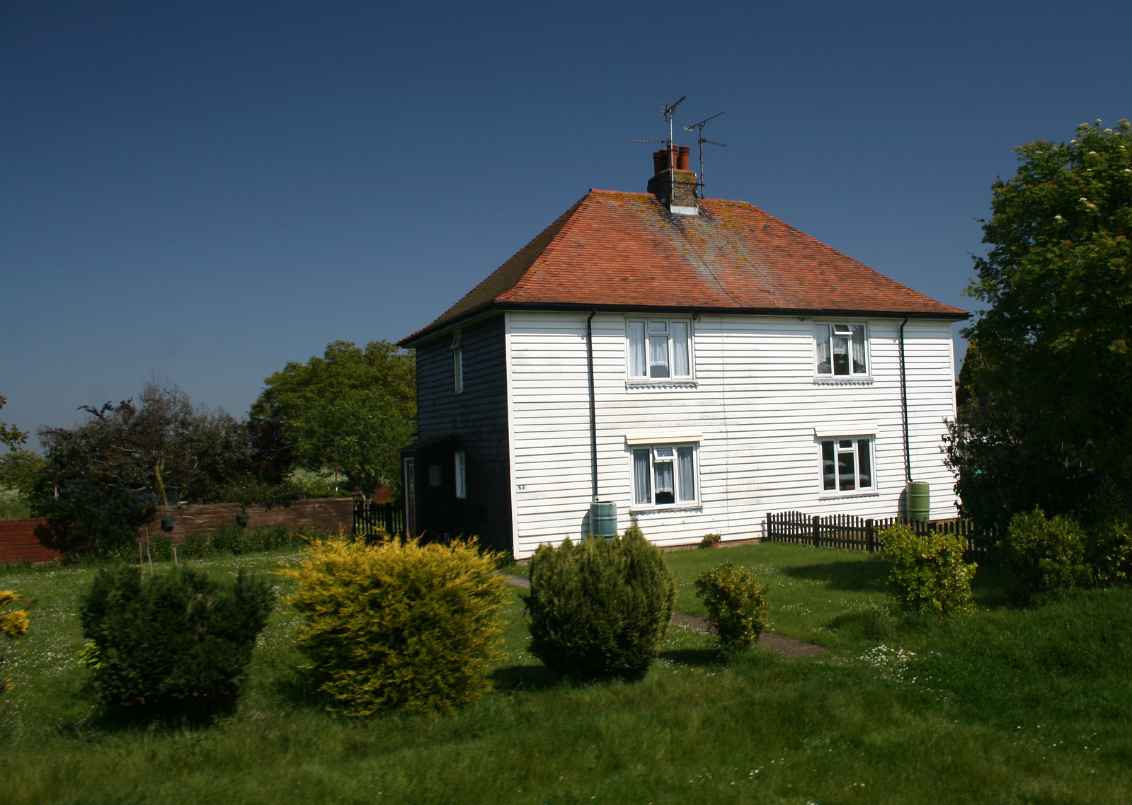 Houses on Foulness Island