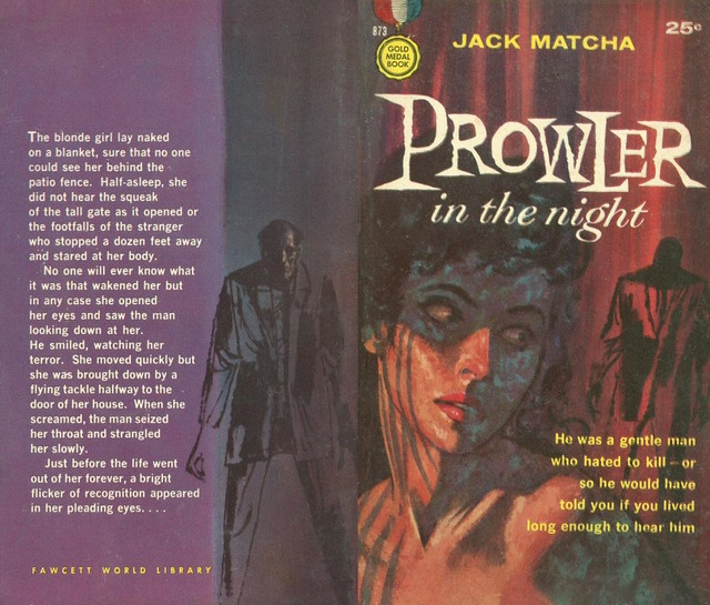 Jack Matcha - Prowler in the Night 1959 pbk