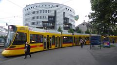Basel, Aeschenplatz, Stadler Tango Tram