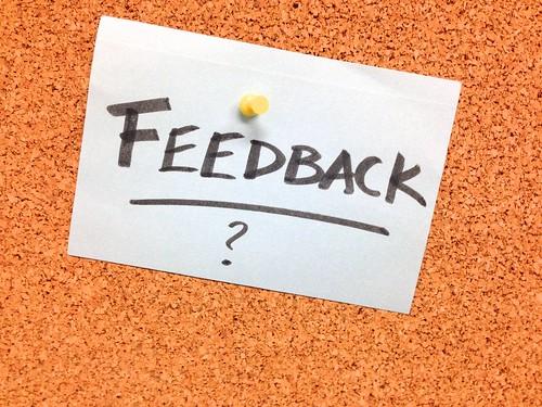 Got Feedback?   by cogdogblog
